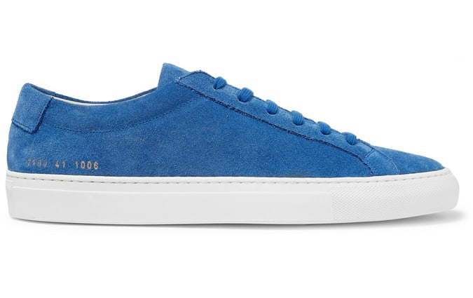 COMMON PROJECTS Baskets en daim Achilles originales