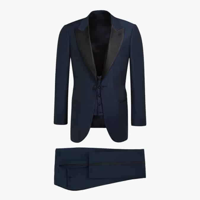suit supply LAZIO NAVY TUXEDO