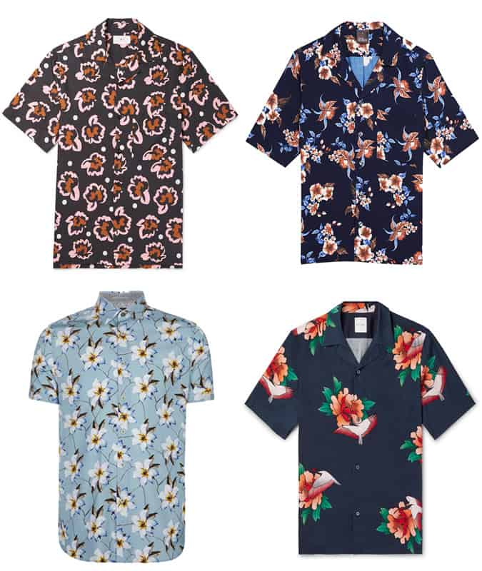 The Best Floral Shirts For Men
