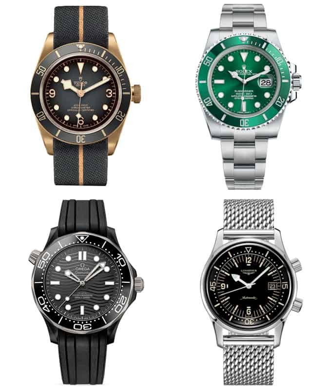 The best men's diving watches