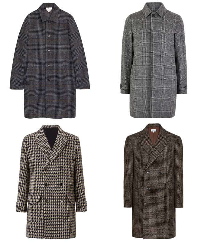 Best check overcoats